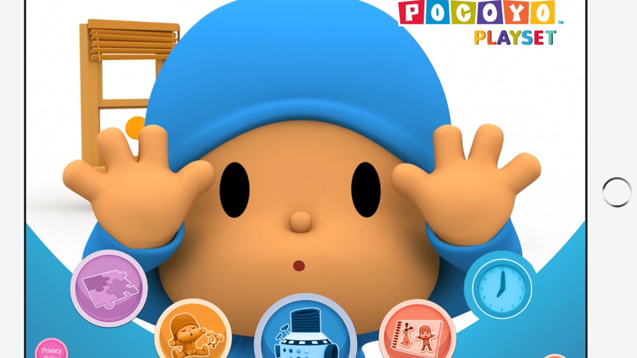 POCOYO PLAYSET: LETS MOVE AWARDED BEST LEARNING APP FOR TABLETS