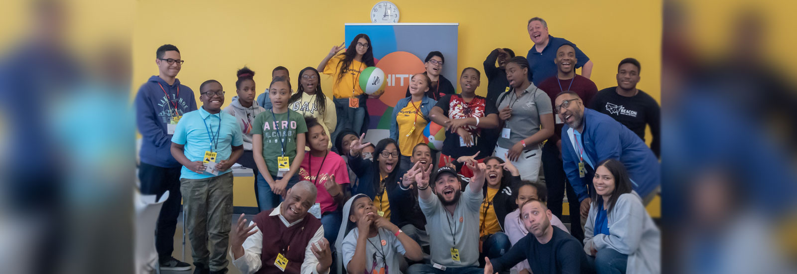 An amazing day at the 2019 Youth Leadership Summit With HITN
